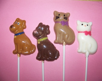 10 pc. Dog and Cat Lollipops