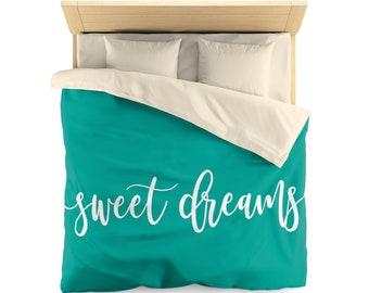 Sweet Dreams, Duvet Cover, bedroom decor