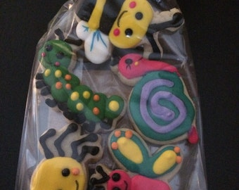 Insect Mini Cookies