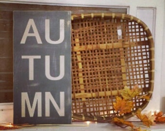 Autumn Sign, Autumn, Fall Decor, Fall Sign, Autumn Decor, Fall Porch Decor, Fall Porch Sign, Fall Mantel, Fall Signs, Fall Farmhouse Signs