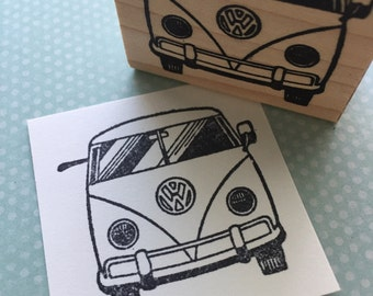 VW Volkswagon Bus Rubber Stamp