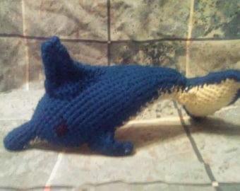 Crochet Dolphin