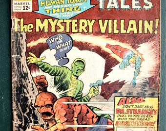 Strange Tales no 127 Dec 1964 - Silver Age first Mindless Ones Appearence