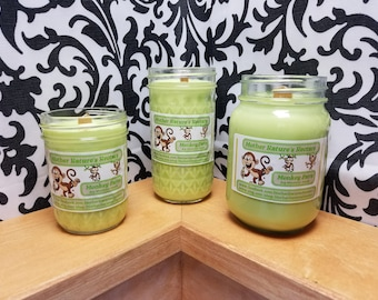 Monkey Farts - 100% Soy Wood Wick Candles