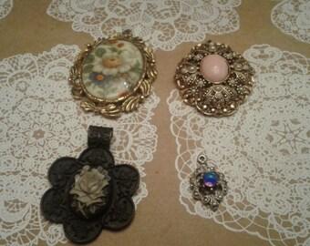 Victorian Revival Pendants Destash, Choose One