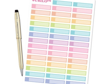 Blank Icon Labels Planner Stickers - fits Erin Condren Planner and Happy Planner!