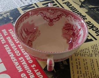 Made in England Pink & White Bowl!