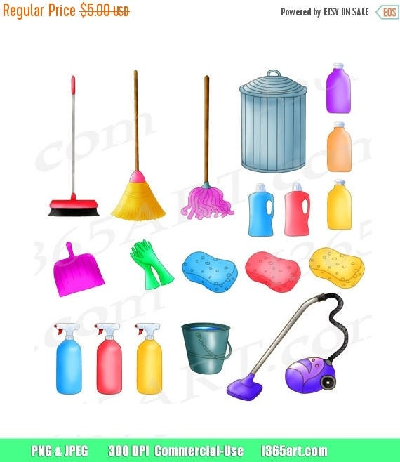 50 off cleaning clipart cleaning clip art spring cleaning rh etsy com spring cleaning clipart public domain office spring cleaning clipart