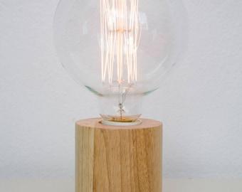 Kupla Minimalist Wooden Table Lamp
