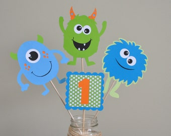 Items similar to Monster Birthday Party Package Monster Party