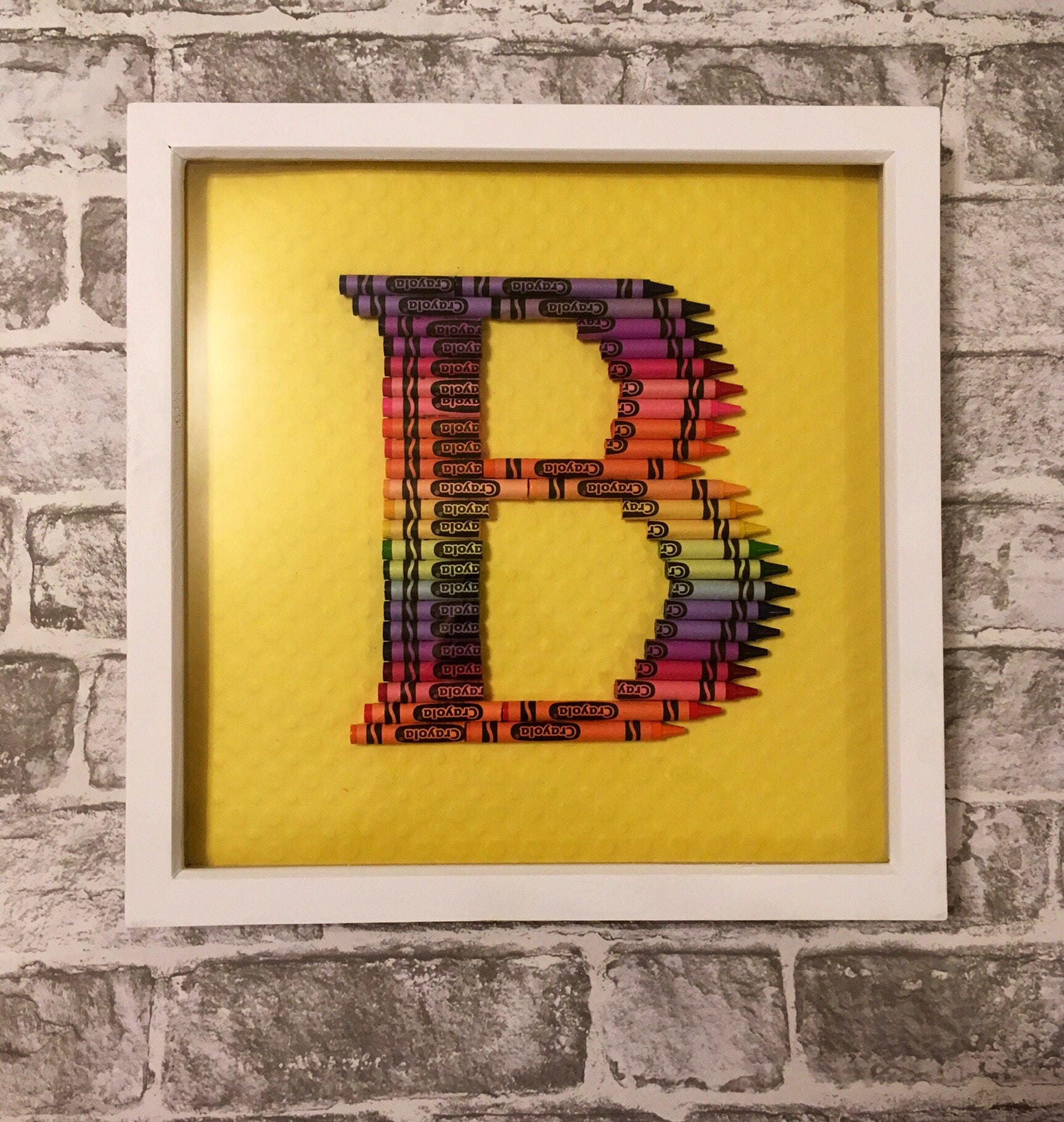 Pencil initial, crayon inital, Framed Letter, Large letter pencil ...