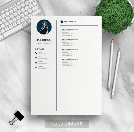 Moderne Lebenslauf Vorlage für Word 1 und 2 Seite Lebenslauf