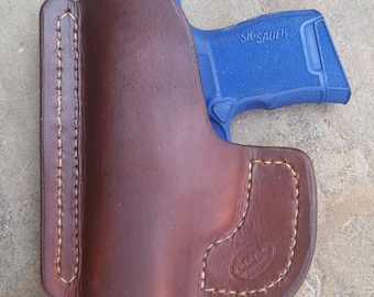 brown pocket Sig P365 holster