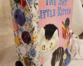 Little Golden Book ~ The Shy Little Kitten Junk Journal