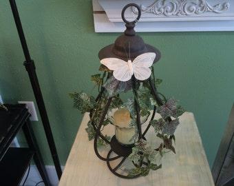 Iron Work Lantern