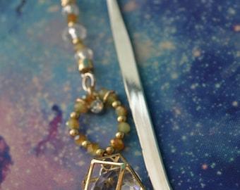 Golden Book Bling Bookmark