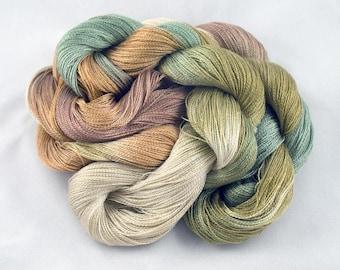 DESERT SAGE Handpainted 8/2 Tencel Yarn