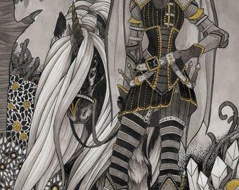 Black Knight #2 - print