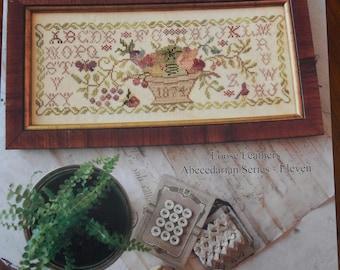 Summer Harvest by Blackbird Designs Loose Feathers Abecedarian Series Pattern 11