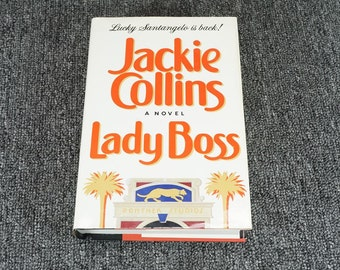 Lady Boss A Novel By Jackie Collins C. 1990