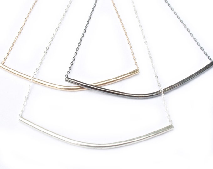 Tube Necklace- Short