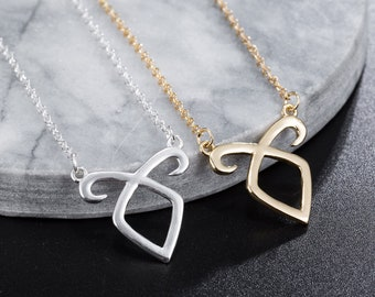 The mortal instruments angelic power necklace - The mortal instruments - The infernal devices - Cassandra Clare jewelry - Shadowhunters rune