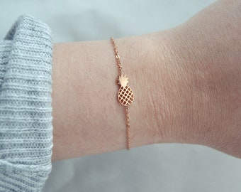 Cute Filigran Bracelet - pineapple/ luck / present
