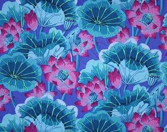 Kaffe Fassett for Rowan. Westminster Fibers GP93; Lake Blossoms 2014; 1/2 yard woven cotton fabric