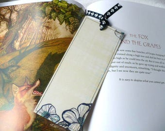 Bookmark, Personalized Gift, Floral, Custom Bookmark, Personalized Bookmarks, Gift For Bookworm