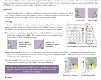 Sidekick High/Low Technique Sheet
