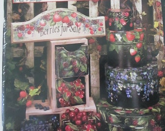 "Folk Art Decorative book "" Grans Treasures "" by Kos Stallcup 106 pages 1996 used book"