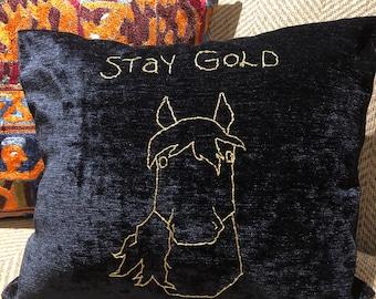 Stay Gold Ponyboy Pillow