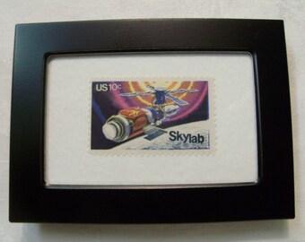 Outer Space Stamp, Vintage Stamp, Star wars, Framed postage stamp, postage stamp, Vintage Stamp