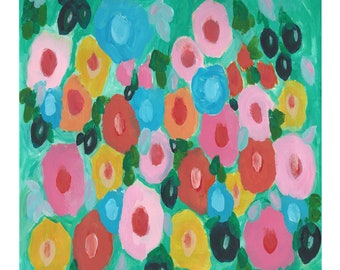 """Limited Edition Fine Art Giclee Print """"Barbados Blooms"""" Set of 10 ~ 6"""" Cards"""