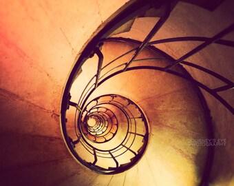 Fine art photography, Paris art, Arc de Triomphe, France print, architecture, wall art - Nautilus Shell