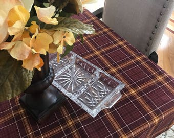 Thanksgiving Tablecloth | Fall Tablecloth | Table | Square | Decor | Overlay | Linens | Table Topper | Thanksgiving | Fall Table Topper