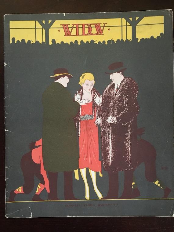 Vintage Magazine The Widow Cornell University November 1922
