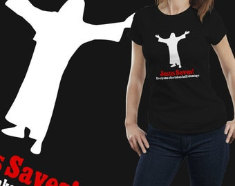 Jesus Save's Tshirt Dungeons and Dragons