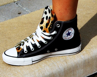 Leopard Print Converse Chuck Taylor All Star Shoes