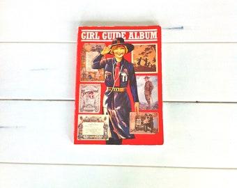 Girl Guide Album/Vintage Girl Guide Collectibles/Girl Guide Book/Vintage Girl Guide Book/Girl Guide Memorabilia/Girl Guide Assoc. Book