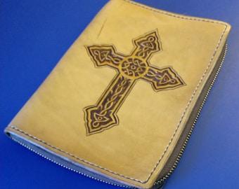 Geometric Cross Bible Cover