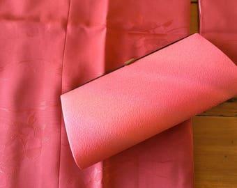 Vintage Japanese Silk Clutch Purse