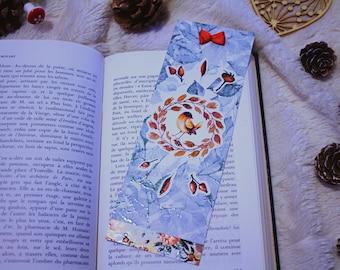 Autumn bird bookmark