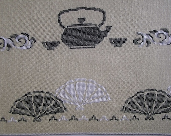 Japanese style embroidery