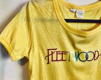 Vintage 80s Fleetwood Mac T Shirt / UNWORN