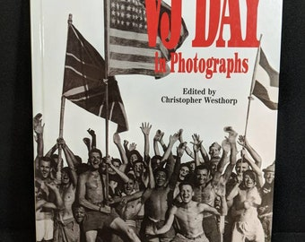 VJ day in photographs coffee table art photography book