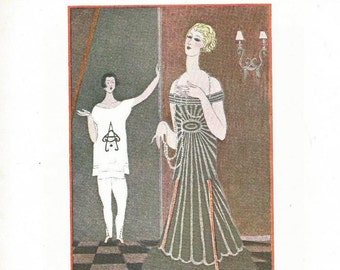 vintage. print. french. illustration. decorating ideas. wall art. wall hanging. fashion. art deco. for living room. for bedroom. women. art.