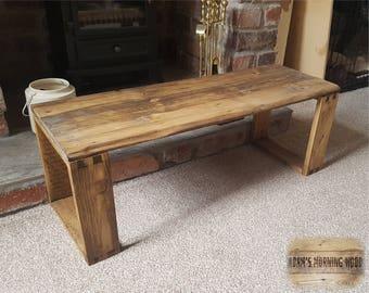 Rustic Reclaimed Pallet Wood Table