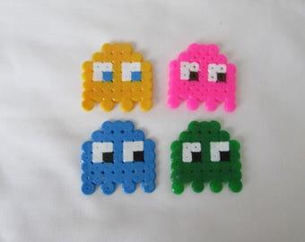 Pac-Man Magnet: Set of 4