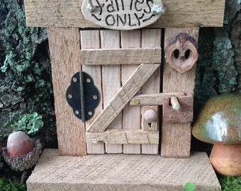 Fairy Door,Fantasy Fairy,Tooth Fairy,Rustic Fairy Door,Fairy Garden Door,Wooden Fairy Door,Gnome,Miniature Fairy Door,Whimsical Decor